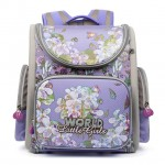 Ортопедический школьный рюкзак (ранец) Grizzly (1-5 класс) для девочек в Краснодаре