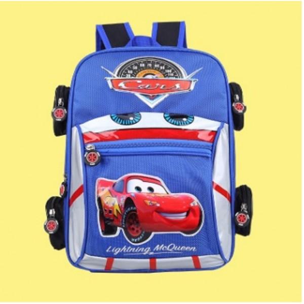Школьный рюкзак (1-3 класс) для мальчика (машинка) в Краснодаре
