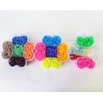 Набор резинок для плетения трехъярусный Loom Bands 4000 шт, Цветок в Краснодаре