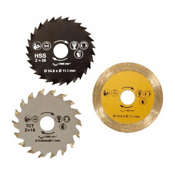Комплект дисков для универсальной пилы Rotorazer Saw (Роторайзер Соу) в Краснодаре