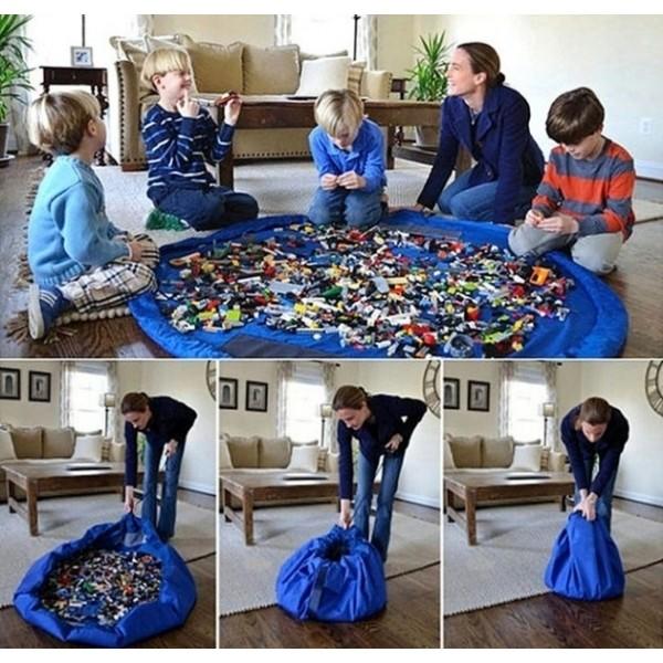 Сумка-коврик для игрушек Toy Bag диаметр 150 см в Краснодаре