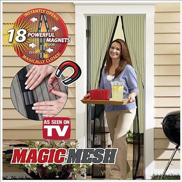 Москитная сетка на 18 магнитах Magic Mesh в Краснодаре