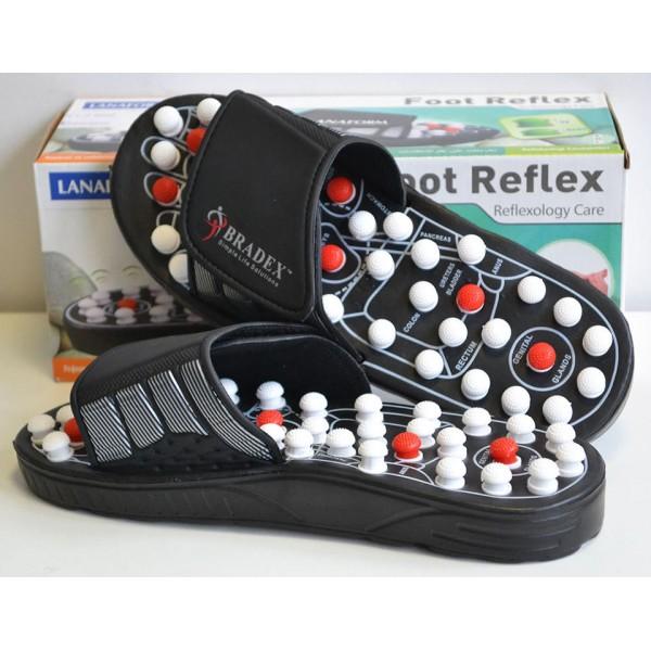Рефлекторные массажные шлепанцы Foot Reflex в Краснодаре