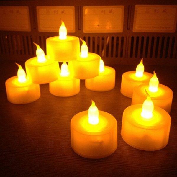Светодиодные свечки LED Candle 2 шт в Краснодаре