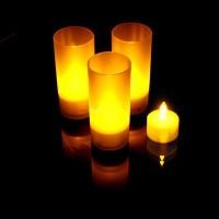Светодиодная свеча LED Candle в стакане в Краснодаре
