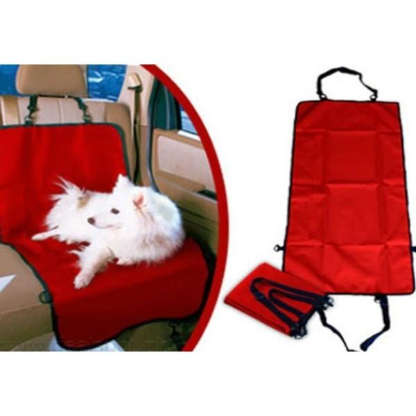 Подстилка для собак в автомобиль, красная в Краснодаре