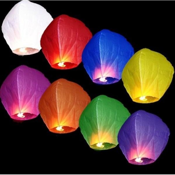 """Небесные фонарики с надписями """"Поздравляем!, с Днем рождения"""" в Краснодаре"""