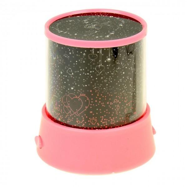 """Ночник-проектор """"Любовь"""", розовый, с USB-кабелем и сетевым адаптером в Краснодаре"""