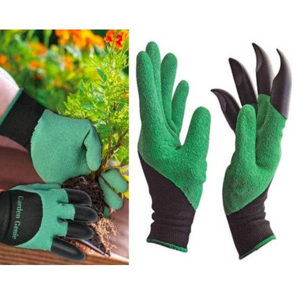 Садовые перчатки с когтями для сада в Краснодаре