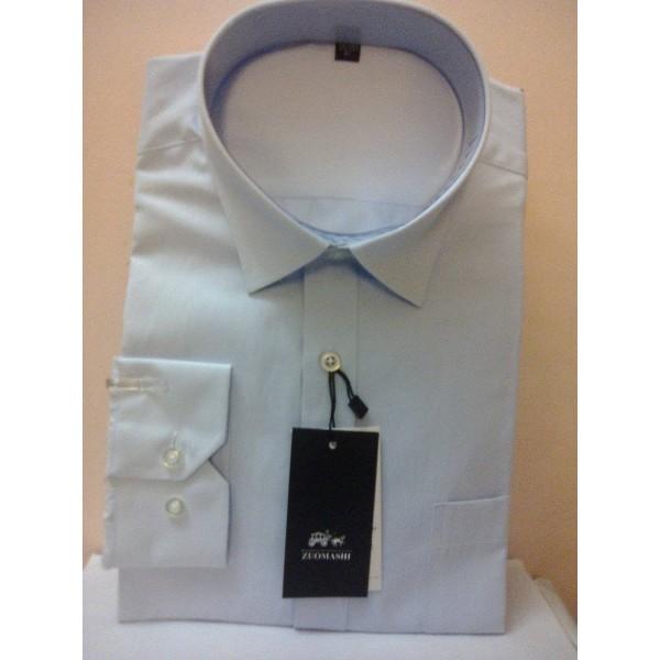 Рубашка-сорочка классическая голубая в Краснодаре